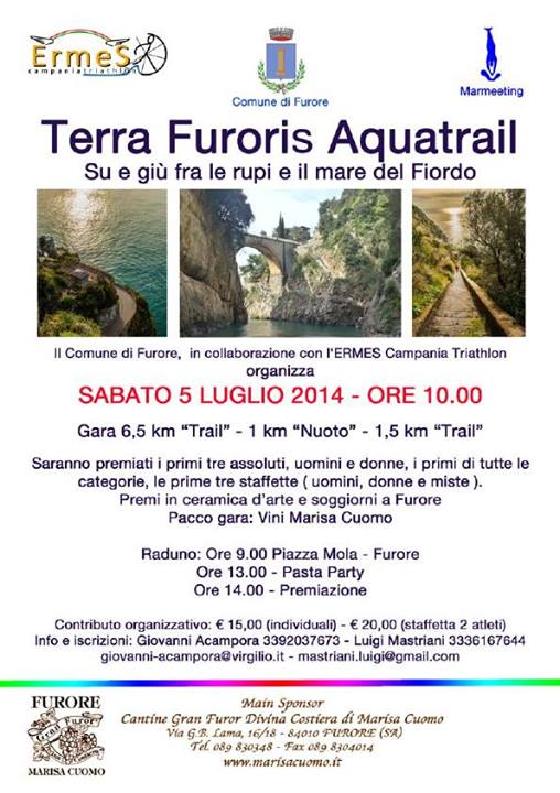 Terra Furoris Acquatrail - B&B Nido Verde